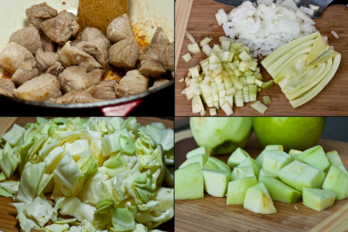 Pork and Apple Stew | EclecticCook.com