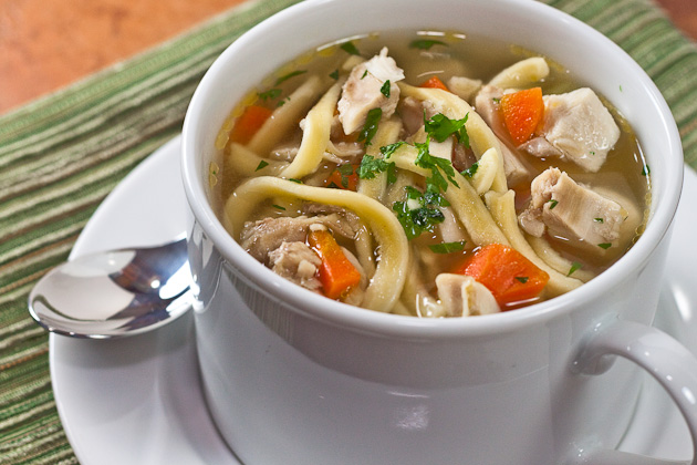 Chicken Noodle Soup Remedy | EclecticCook.com